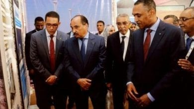"""Photo of الرئيس الموريتاني يتجول في معرض """"موريتانيد"""" للطاقة"""