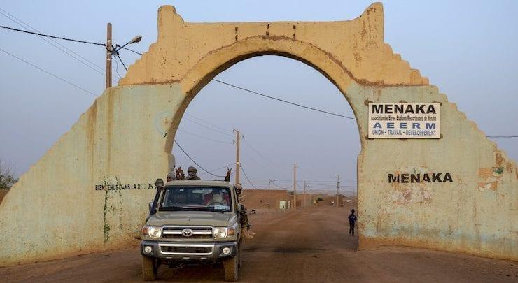 مدخل مدينة منكا المالية