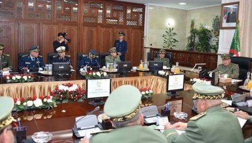 اجتماع قادة الجيش مساء اليوم بالجزائر
