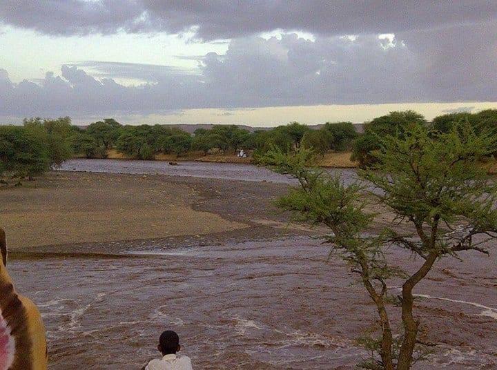 مقاييس الأمطار في عدة ولايات موريتانية