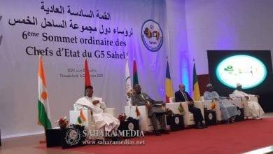 Photo of «صحراء ميديا» تنشر البيان الختامي لقمة دول الساحل