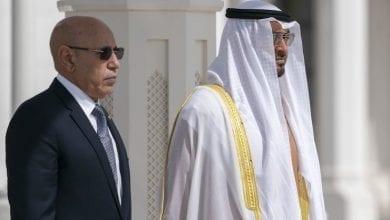"Photo of ""بن زايد"" يتصل بالرئيس الموريتاني بخصوص ""كورونا"""